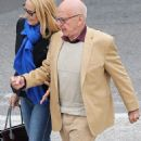 Jerry Hall and Rupert Murdoch - 454 x 827