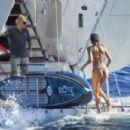 Doutzen Kroes – On a yacht in Ibiza