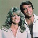 Farrah Fawcett and Lee Majors