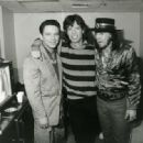 Jimmy Vaughan, Mick Jagger and Stevie Ray Vaughan