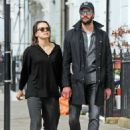 Daisy Ridley and Tom Bateman – Out in Primrose Hill - 454 x 651