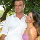 Kristin Davis and Liev Schreiber