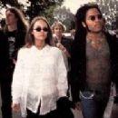 Lenny Kravitz and Vanessa Paradis