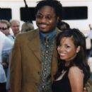 Malcolm-Jamal Warner and Michelle Thomas