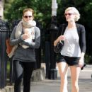 Emma Watson was spotted out and about in London today, September 5