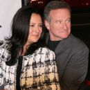 Marsha Garces and Robin Williams