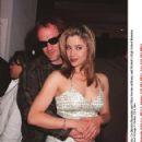 Mira Sorvino and Quentin Tarantino