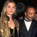 Nastassja Kinski and Quincy Jones