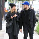 Mena Suvari is spotted walking with a friend during a lunch trip to M Cafe in Beverly Hills, California on February 21, 2017 - 426 x 600