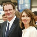 Quentin Tarantino and Sofia Coppola