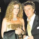 Rachel Hunter and Rod Stewart