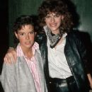 Sandra Bernhard and Amanda Bearse