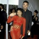 Shemar Moore and Toni Braxton