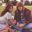 Stephanie Seymour and Axl Rose