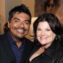 George Lopez and Ana Serrano