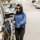 Kourtney Kardashian in Tights out in West Hollywood