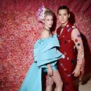 Cole Sprouse and Lili Reinhart- The 2019 Met Gala Celebrating Camp: Notes On Fashion - Arrivals - 454 x 681