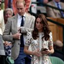 Prince William and Catherine at the Men's Final of the Wimbledon