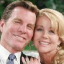 Melody Scott and Peter Bergman