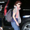 Lena Headey  – Arrives at LAX Airport in LA - 454 x 695