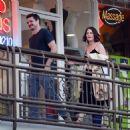 Robin Tunney – Leaving Sushi Park Restaurant in Los Angeles - 454 x 462