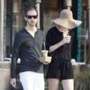 ANNE HATHAWAY in Shorts Out and About in Los Angeles
