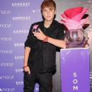 """Justin Bieber at Macy's for his """"Someday"""" launch June 23, 2011"""