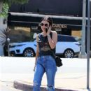 Lucy Hale – outside a clinic in Los Angeles