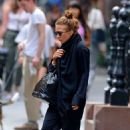 Mary Kate Olsen: in the East Village of New York City