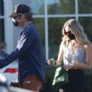 Annabelle Wallis and Chris Pine – Shopping in Los Angeles - 454 x 419