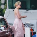 Amber Heard in Long Dress – Out in Los Angeles