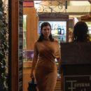 Kourtney Kardashian – Night out in Rome