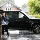 HARRY STYLES ARRIVING AT HIS HOUSE, CHESHIRE (July 16)