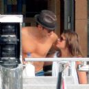 Ryan Seacrest and Dominique Piek looked affectionate during an outing in the South of France over the 4th of July holiday weekend
