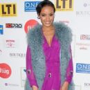 Selita Ebanks Is Pretty In Purple