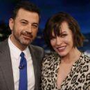 Milla Jovovich at Jimmy Kimmel Live! in Los Angeles January 28, 2017 - 454 x 681