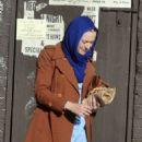 Dakota Fanning – Filming 'Sweetness in the Belly' in Dublin - 454 x 528