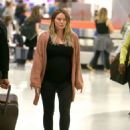 Hilary Duff – Arrives at JFK Airport in New York City