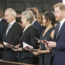 Prince Harry Windsor and Meghan Markle : 25th Anniversary Memorial Service - 454 x 300