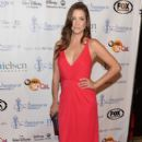 Actress Julie Gonzalo arrives to the 28th Annual Imagen Awards at The Beverly Hilton Hotel on August 16, 2013 in Beverly Hills, California - 392 x 594