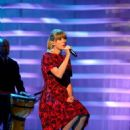 Taylor Swift: during the 2012 Stand Up To Cancer telecast at The Shrine Auditorium in Los Angeles