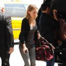 Hilary Swank - Departs LAX Airport - June 10, 2010