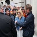 Kylie Minogue – Exits the BBC Radio Studios in London