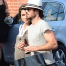 Nikki Reed and Ian Somerhalder out in Venice - 454 x 663