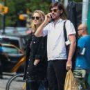Dianna Agron and Winston Marshall out in the East Village