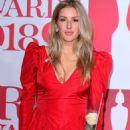Ellie Goulding – 2018 Brit Awards in London - 454 x 713