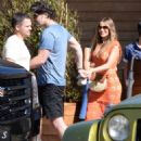 Sofia Vergara and Joe Manganiello– Leaving Soho Housein in Malibu 7/2/2016 - 454 x 611
