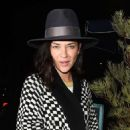 Jessica Szohr at Catch restaurant in Los Angeles February 21, 2017 - 454 x 590