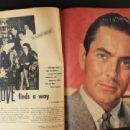 Tyrone Power - Movieland Magazine Pictorial [United States] (April 1949) - 454 x 340