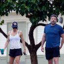 Jennifer Garner in Shorts with Ben Affleck out in Hawaii